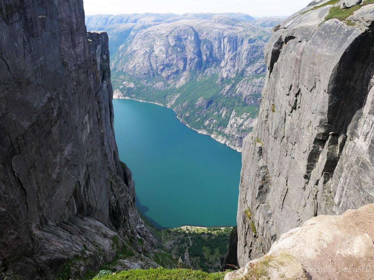 Lysefjord Noruega Fiordo Noruega